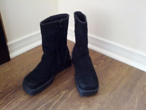 Winter boots for women - natural fur insulation