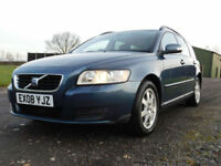 2008 Volvo V50 1.6 S ESTATE**2 OWNERS**FSH**LOW MILEAGE