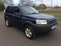 2003 Land Rover Freelander 2.0Td4 COMPLETE WITH M.O.T AND WARRANTY
