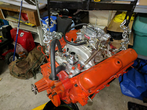 68 273 HP Plymouth engine, freshly rebuilt$2500, or trade