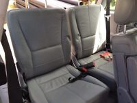 Mercedes ML third row seats & seat belts
