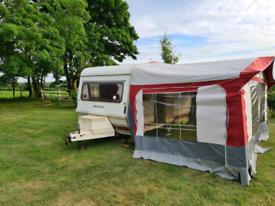 Caravan Monza 4 Berth with Awning