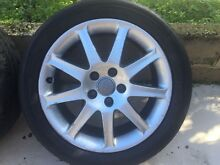 """Audi 17"""" Genuine wheels Willetton Canning Area Preview"""
