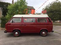 1986 Volkswagen type 25 camper van