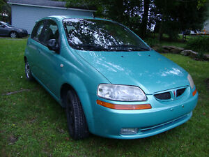 2005 Pontiac Wave Berline