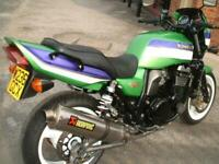 Kawasaki ZRX1100 only 19k miles Full Akrapovic WP Rear Shocks