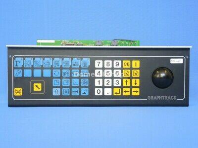 Netstal Graphtrack Keyboard And Trackball 110.240.9968.a