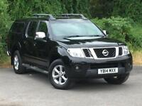 Nissan Navara 2.5 dCi Tekna Double Cab Pickup 4dr (EU5) DIESEL MANUAL 2014/14