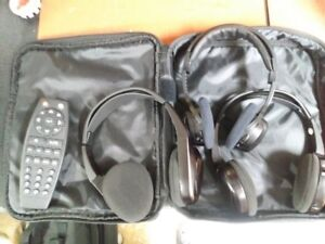 REMOTE AND HEADPHONES FOR DVD PLAYER