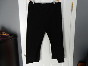 Set of 4, Black Body Corps Leggings, Size XXL
