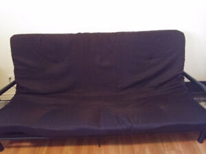 Metal Frame Futon never been used