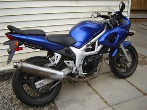 2000 Suzuki SV 650  Good project bike  needs repair.May part out