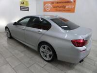 SILVER BMW 5 SERIES 2.0 525D M SPORT ***FROM £299 PER MONTH***