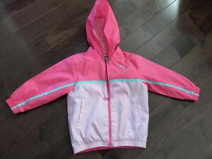 Manteau coupe-vent Puma 2T pour filles