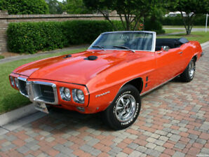 Wanted: 1969 Firebird Convertible- Orange - 400