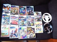 Wii games for sale incl. Disney Infinite ++