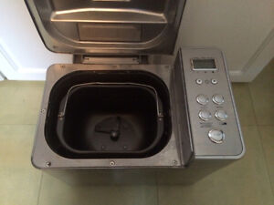 Like new stainless steel breadman bread maker Edmonton Edmonton Area image 2