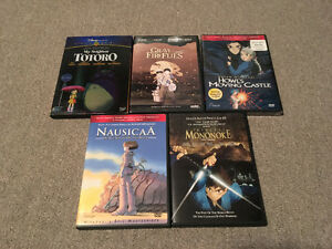 Studio Ghibli (Disney/anime) DVDs