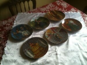 GONE WITH THE WIND COLLECTOR PLATES