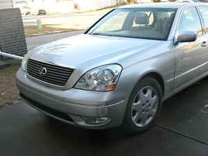2003 Lexus LS 430 Luxury Sedan
