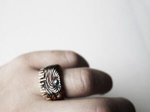 City Ring,Unique Silver Ring, Handcrafted Art Jewellery by J Lim