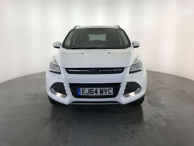 2014 64 FORD KUGA ZETEC TDCI DIESEL 1 OWNER FROM NEW FINANCE PX WELCOME