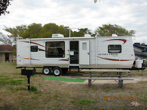 Travel Trailer and Truck Combo