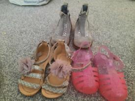 Size 5 girls shoe bundle