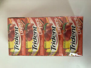 Orchard Peach + Ripe Mango Trident Layers Gum 12 pack