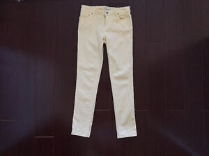 Pastel Yellow Jeans from Europe