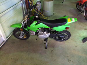 2013 86 cc Dirt Bike. Asking $700 Or Best Offer