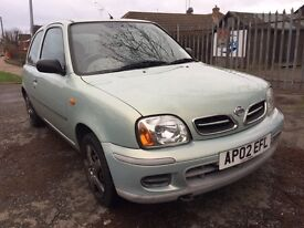 2002 NISSAN MICRA VIBE 1.0 litre FULL MOT BARGAIN CHEAP CAR
