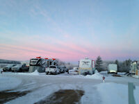 Winter RV lot for rent - Bonnyville
