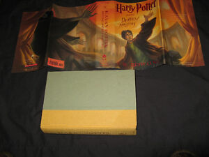 Harry Potter and the Deathly Hallows Hardcover 2007 1st Edition Belleville Belleville Area image 2