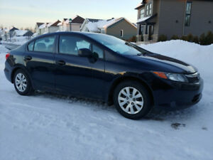 Honda Civic Dx 2012 manuelle 119400km