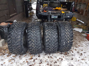 Toyo open country mt's.  Like new
