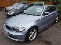 BMW 1 SERIES 116I SPORT Blue Manual Petrol, 2009