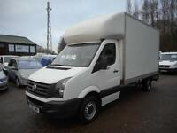 2013 VOLKSWAGEN CRAFTER CR35 TDI LWB GRP LUTON TAIL LIFT *CHOICE OF 2!!! LUTON D
