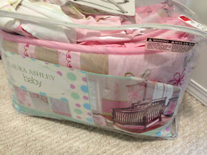 Laura Ashley Girl Crib Bedding Set