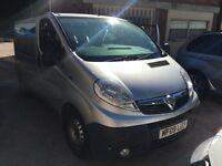 2009 Vauxhall Vivaro 2900 CDTi van 2.5 Diesel px welcome