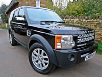2008 LAND ROVER DISCOVERY 3 2.7 TDV6 SE 6 SPEED MANUAL. GREAT SPEC !!