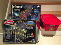 Knex Roller Coaster and Ride Set - USED