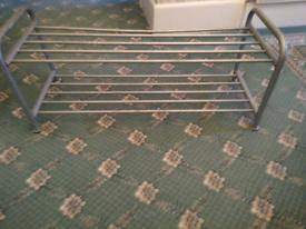 FREE-Metal shoe rack- FREE