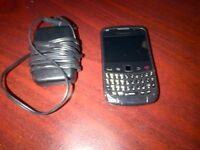 Blackberry Curve 9300 with charger $25