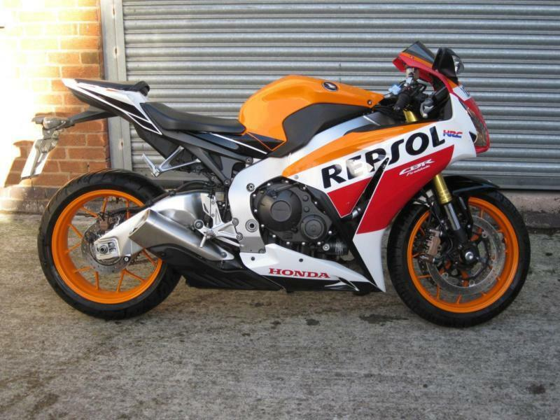 Honda Cbr 1000 Rr Repsol 2015 65 Reg Two Wheel Moto 0116