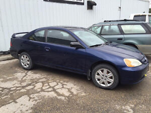 2003 Honda Civic LX Coupe Manual
