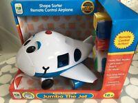 Shape Sorter Remote Control Airplane