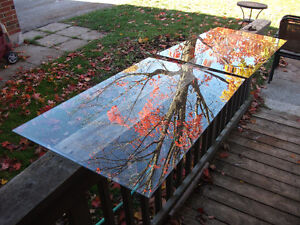 Free - two matching panes of glass
