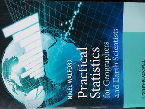 practical statistics for geographer & earth scientist by walford