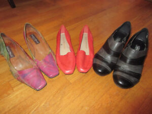 Three pairs of very nicequality shoes - Great condition